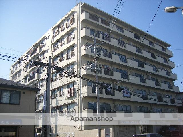 千葉県松戸市、松戸駅徒歩18分の築43年 7階建の賃貸マンション