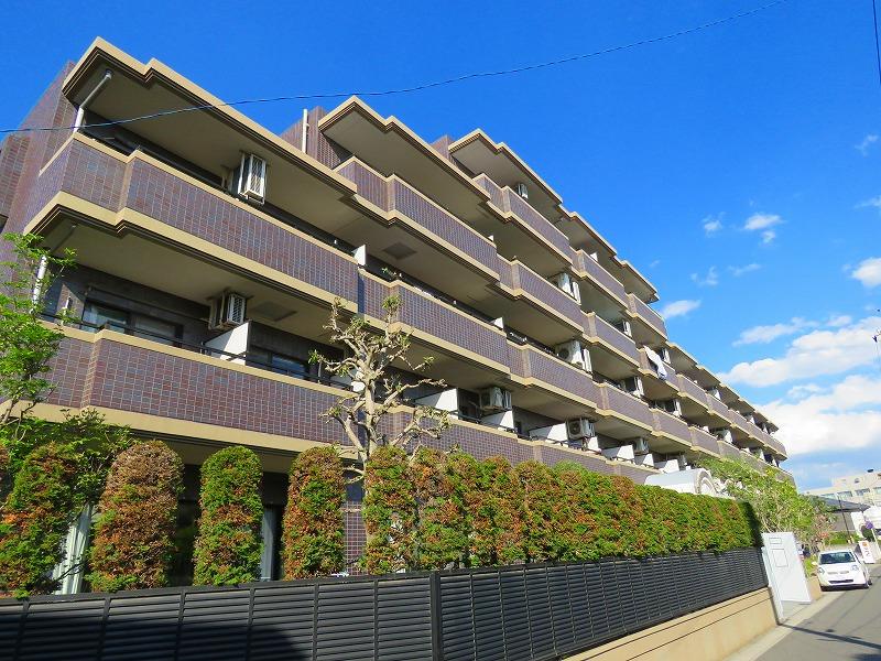 千葉県松戸市、北松戸駅徒歩9分の築20年 4階建の賃貸マンション