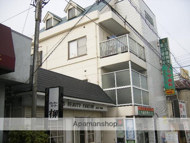 千葉県松戸市、矢切駅徒歩3分の築25年 4階建の賃貸マンション