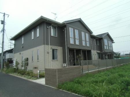 千葉県流山市、流山おおたかの森駅徒歩12分の築2年 2階建の賃貸アパート