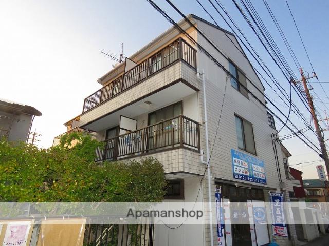 千葉県松戸市、松戸駅徒歩18分の築28年 3階建の賃貸マンション