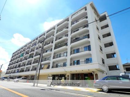 千葉県松戸市、新松戸駅徒歩22分の築43年 7階建の賃貸マンション