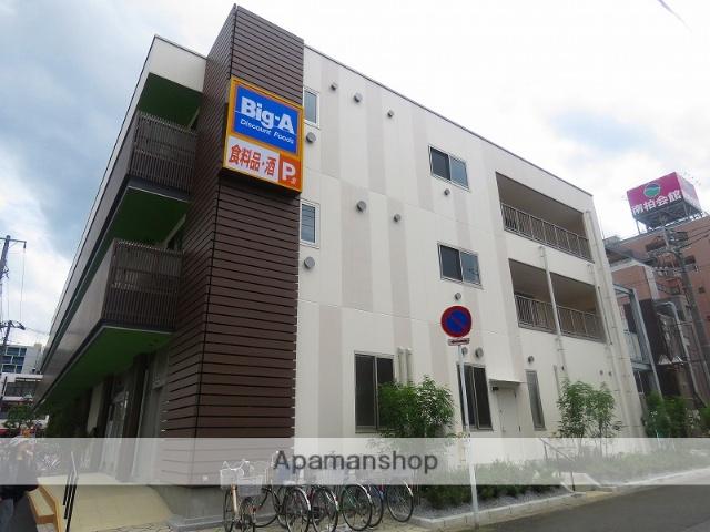 千葉県柏市、南柏駅徒歩2分の築2年 3階建の賃貸マンション