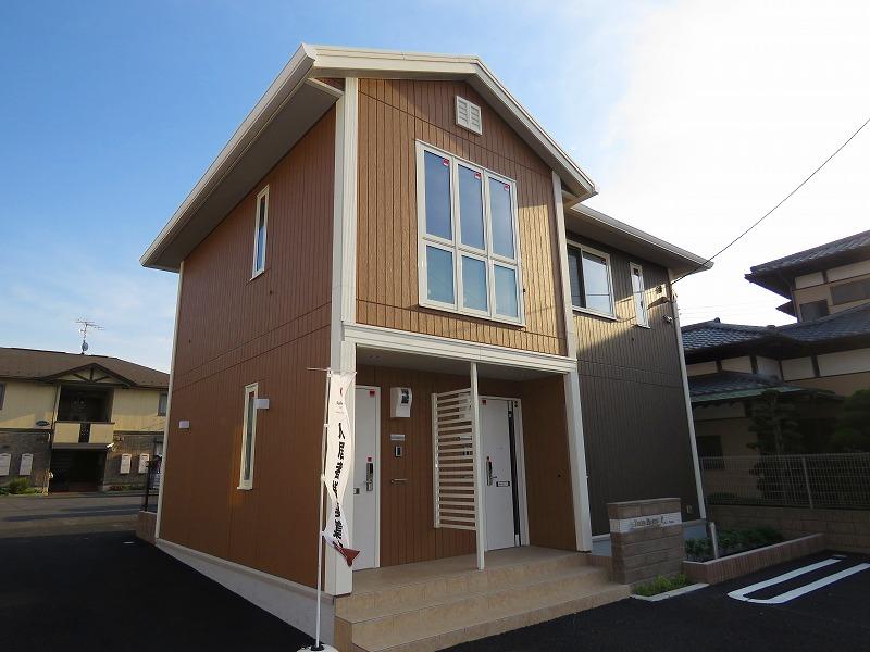 千葉県松戸市、南流山駅徒歩16分の新築 2階建の賃貸アパート