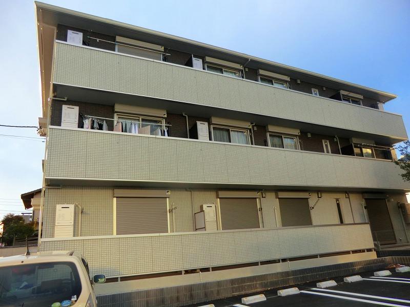 千葉県松戸市、北小金駅徒歩7分の新築 3階建の賃貸アパート