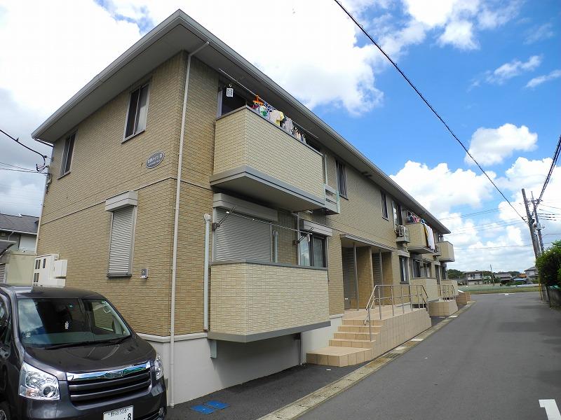 千葉県松戸市、新八柱駅徒歩22分の築7年 2階建の賃貸アパート