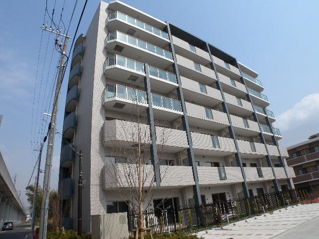 千葉県流山市、流山セントラルパーク駅徒歩5分の築3年 7階建の賃貸マンション