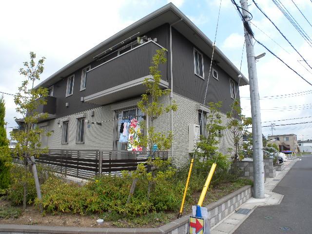 千葉県流山市、鰭ヶ崎駅徒歩17分の築6年 2階建の賃貸アパート