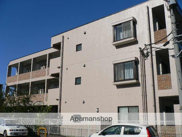 千葉県松戸市、北松戸駅徒歩4分の築18年 3階建の賃貸マンション