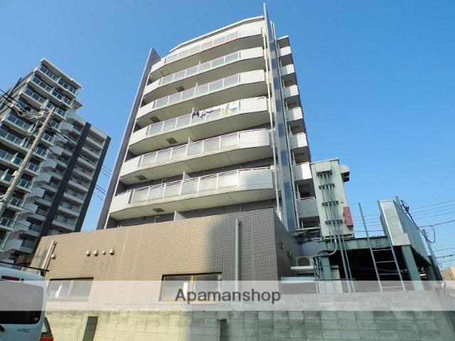 千葉県松戸市、北松戸駅徒歩3分の築23年 9階建の賃貸マンション