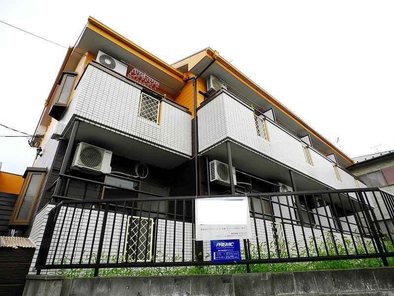 千葉県松戸市、北松戸駅徒歩17分の築24年 2階建の賃貸アパート