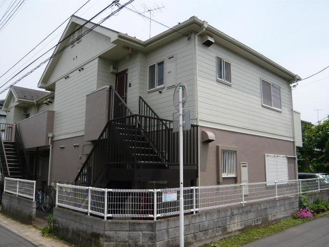 千葉県松戸市、東松戸駅徒歩27分の築23年 2階建の賃貸アパート