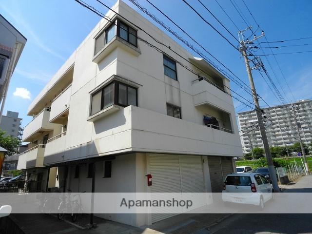 千葉県松戸市、新松戸駅徒歩7分の築32年 3階建の賃貸マンション