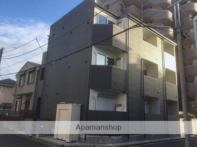 千葉県千葉市中央区、本千葉駅徒歩6分の新築 3階建の賃貸アパート