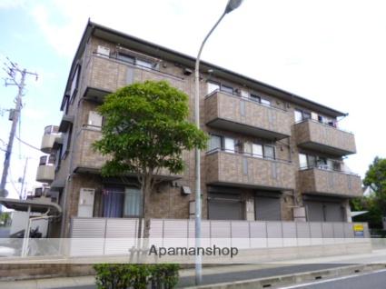 千葉県市川市、行徳駅徒歩10分の築13年 3階建の賃貸アパート