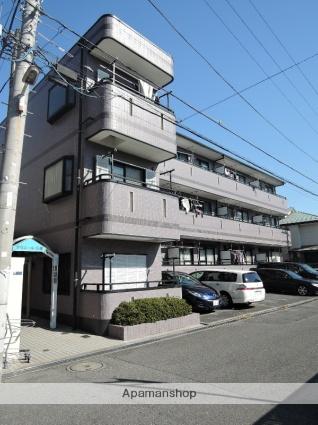 千葉県市川市、南行徳駅徒歩18分の築23年 3階建の賃貸マンション