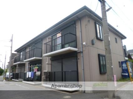 千葉県習志野市、幕張本郷駅徒歩17分の築17年 2階建の賃貸アパート