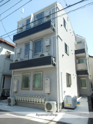 東京都葛飾区、新小岩駅徒歩14分の新築 3階建の賃貸アパート