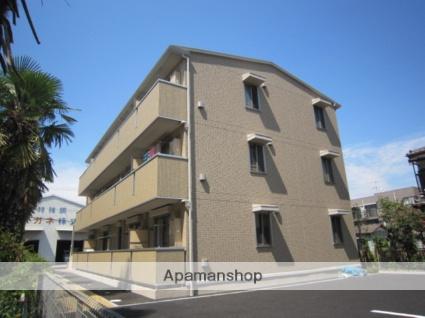 千葉県市川市、下総中山駅徒歩22分の築7年 3階建の賃貸アパート
