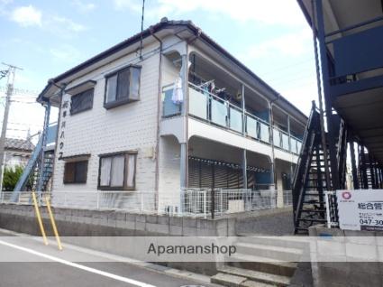 千葉県市川市、市川塩浜駅徒歩26分の築24年 2階建の賃貸アパート