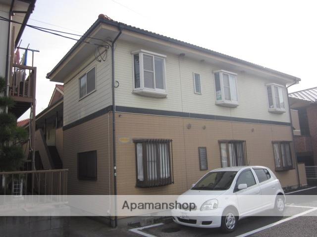 千葉県松戸市、みのり台駅徒歩7分の築21年 2階建の賃貸アパート