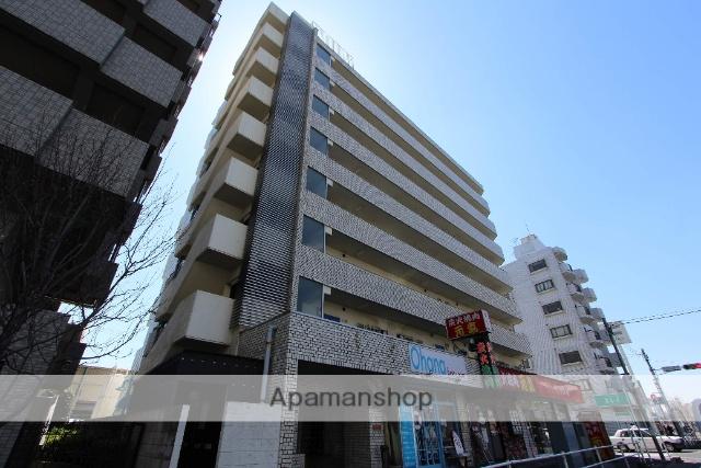 千葉県松戸市、新八柱駅徒歩3分の築27年 8階建の賃貸マンション