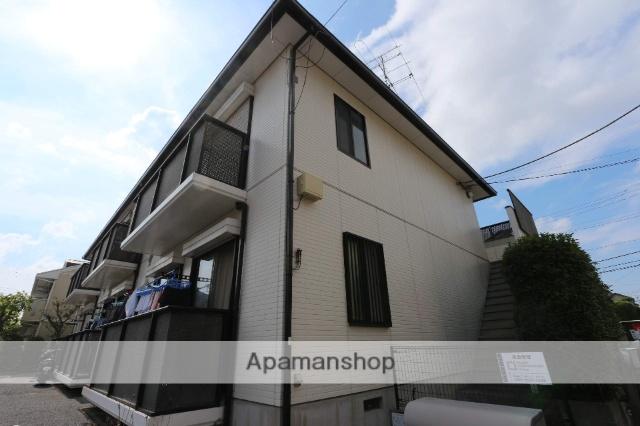 千葉県松戸市、松飛台駅徒歩9分の築22年 2階建の賃貸アパート