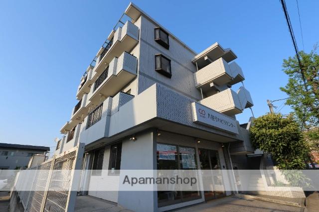 千葉県松戸市、新八柱駅徒歩11分の築25年 4階建の賃貸マンション