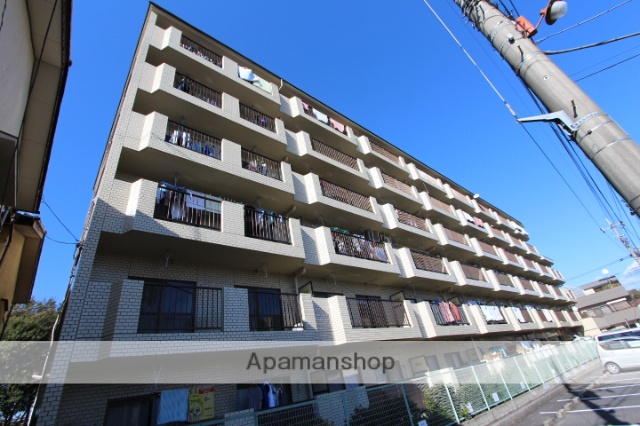 千葉県松戸市、新八柱駅徒歩24分の築29年 6階建の賃貸マンション