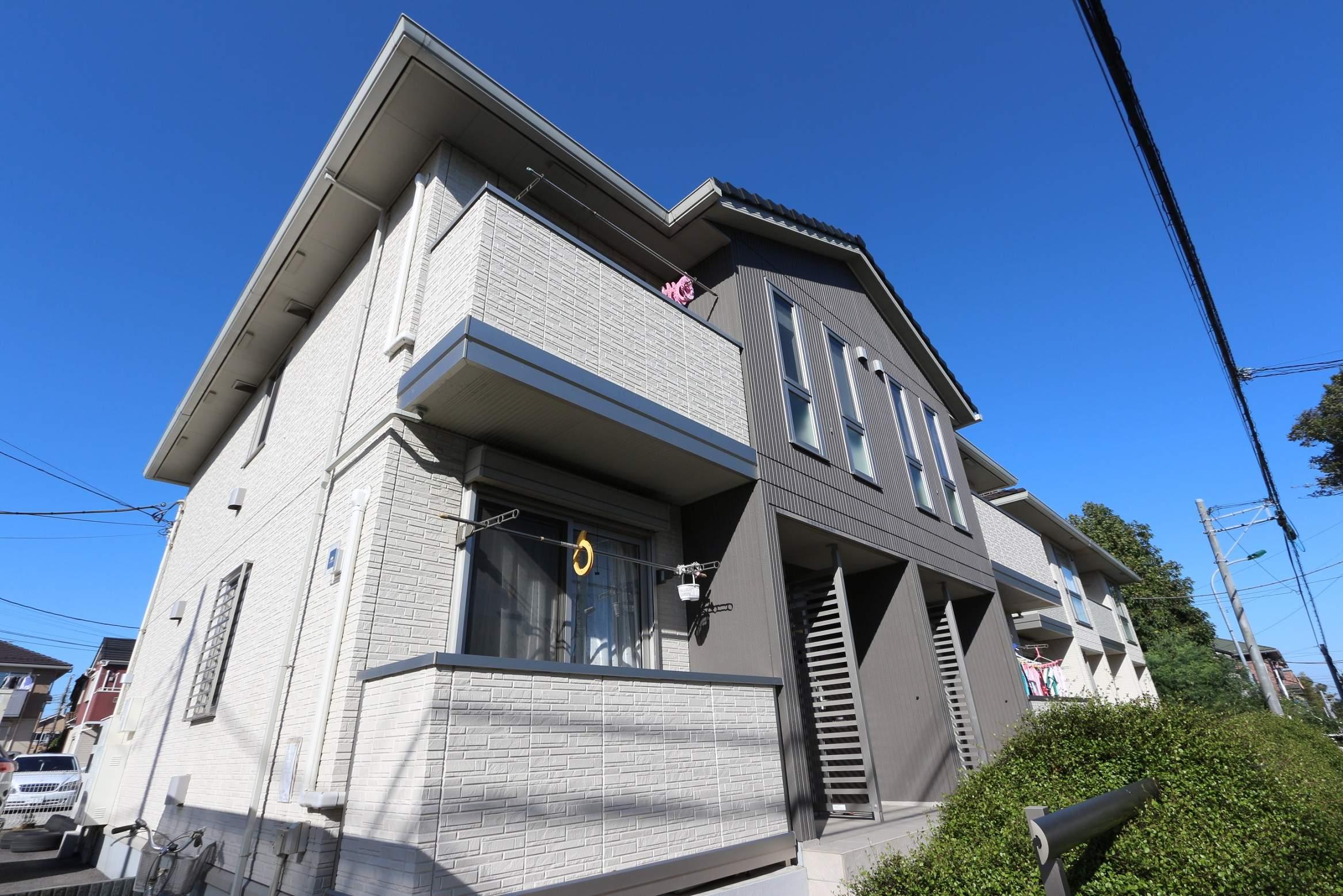 千葉県松戸市、新八柱駅徒歩28分の築7年 2階建の賃貸アパート