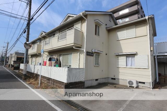 千葉県松戸市、松戸駅新京成バスバス15分二十世紀が丘下車後徒歩1分の築24年 2階建の賃貸アパート