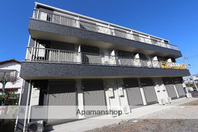 千葉県松戸市、新八柱駅徒歩8分の築2年 3階建の賃貸アパート