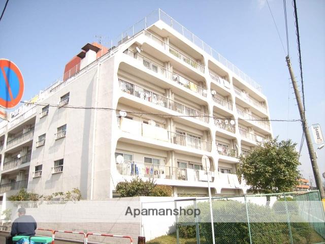 千葉県松戸市、常盤平駅徒歩3分の築43年 6階建の賃貸マンション