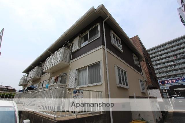 千葉県松戸市、新八柱駅徒歩4分の築27年 2階建の賃貸アパート