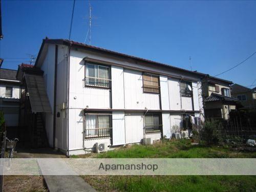 千葉県八千代市、八千代台駅徒歩8分の築35年 2階建の賃貸アパート