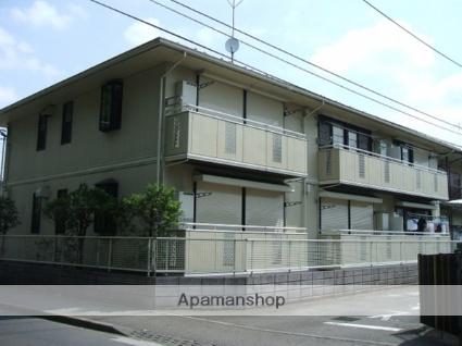 東京都東久留米市、小平駅徒歩12分の築25年 2階建の賃貸アパート
