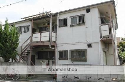 東京都西東京市、花小金井駅徒歩15分の築41年 2階建の賃貸アパート