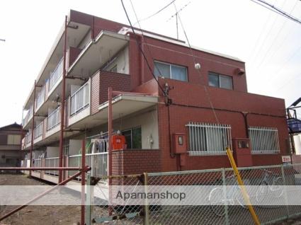 東京都小平市、花小金井駅徒歩12分の築34年 3階建の賃貸マンション
