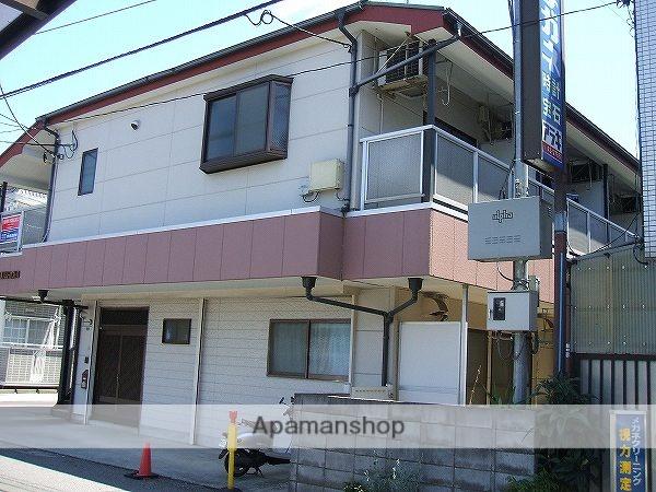 東京都小平市、小平駅徒歩2分の築24年 2階建の賃貸アパート