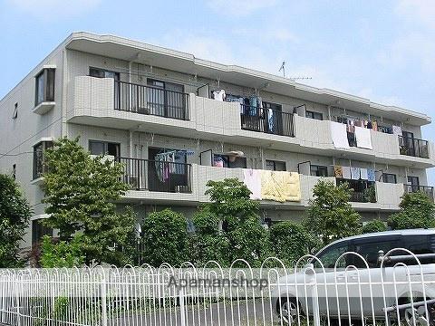 東京都西東京市、田無駅徒歩16分の築28年 3階建の賃貸マンション