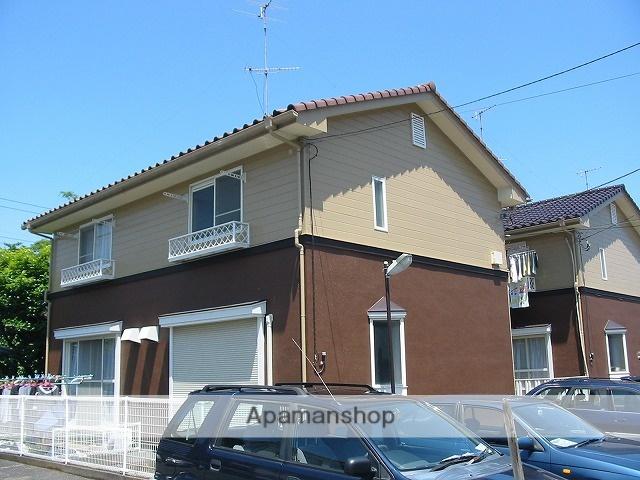 東京都小平市、小平駅徒歩10分の築25年 2階建の賃貸テラスハウス
