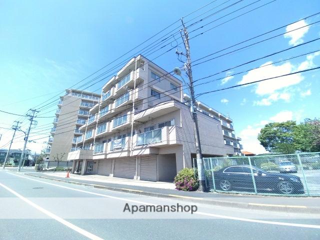東京都青梅市、河辺駅徒歩13分の築30年 5階建の賃貸マンション