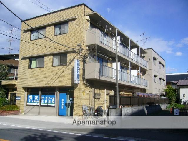 神奈川県相模原市南区、相模大野駅徒歩25分の築30年 3階建の賃貸マンション