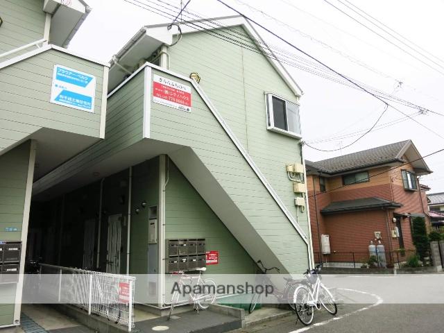 神奈川県相模原市中央区、古淵駅徒歩23分の築11年 2階建の賃貸アパート