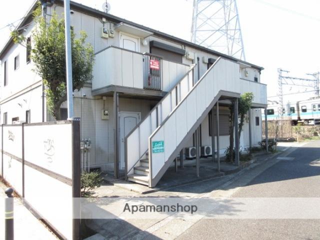 神奈川県川崎市麻生区、鶴川駅徒歩8分の築23年 2階建の賃貸アパート