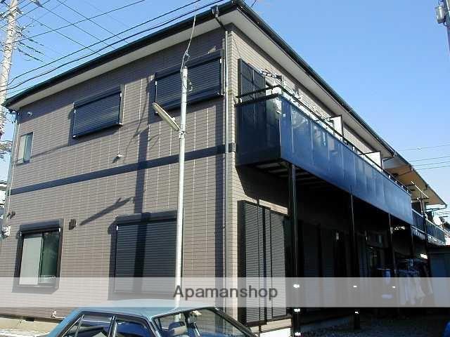 神奈川県相模原市南区、町田駅徒歩24分の築37年 2階建の賃貸アパート