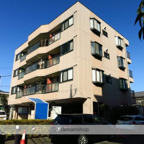 神奈川県相模原市南区、相模大野駅徒歩12分の築27年 4階建の賃貸マンション