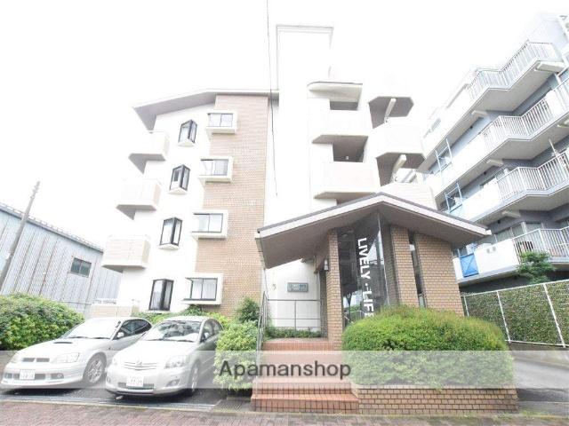 神奈川県相模原市中央区、町田駅徒歩46分の築25年 4階建の賃貸マンション
