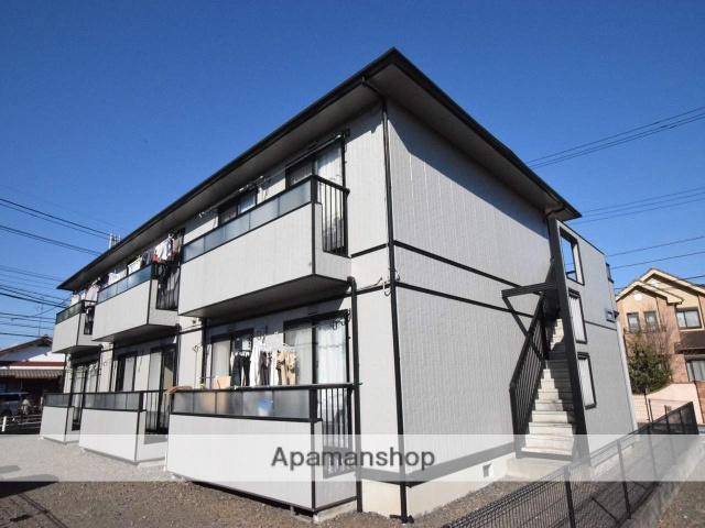 神奈川県相模原市南区、町田駅徒歩35分の築20年 2階建の賃貸アパート