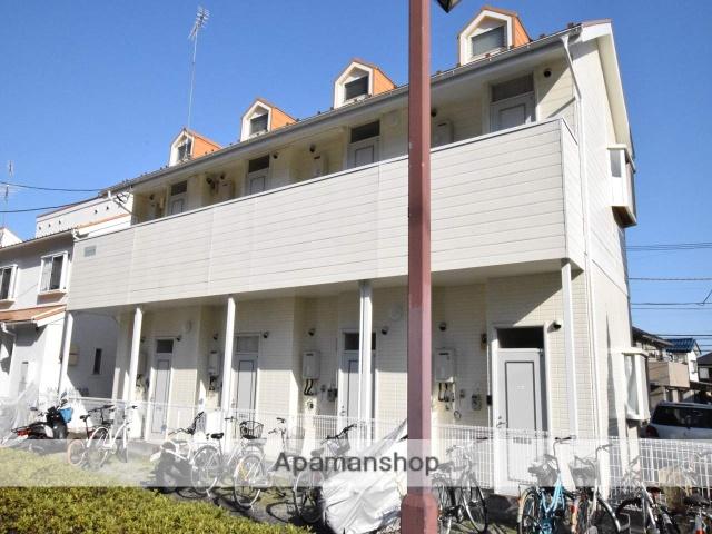 神奈川県相模原市南区、町田駅徒歩43分の築23年 2階建の賃貸アパート